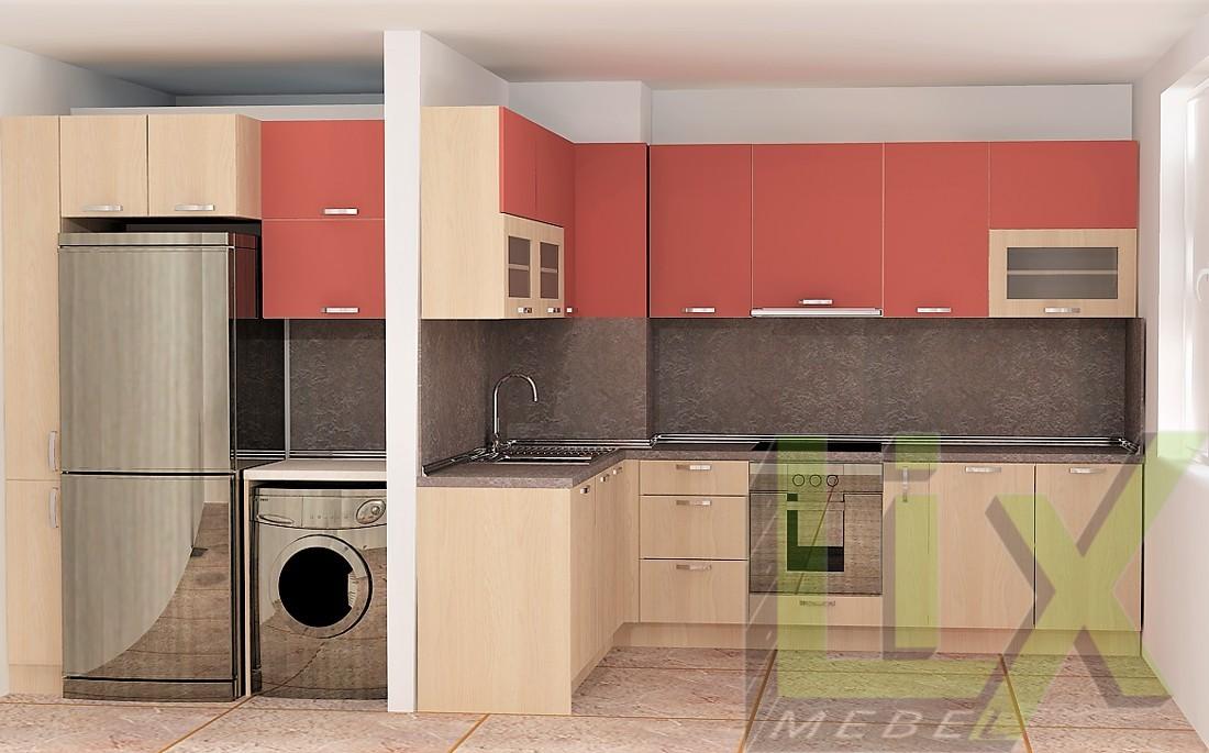 Кухня в модерен стил L-11