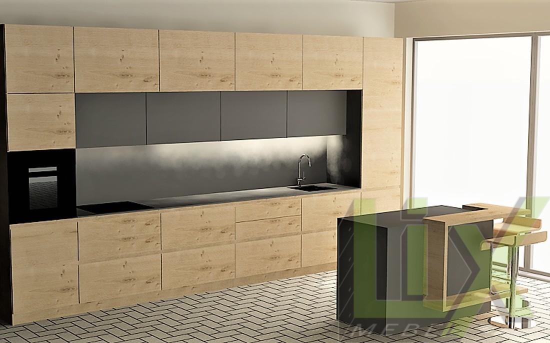 Кухня в модерен стил L-12