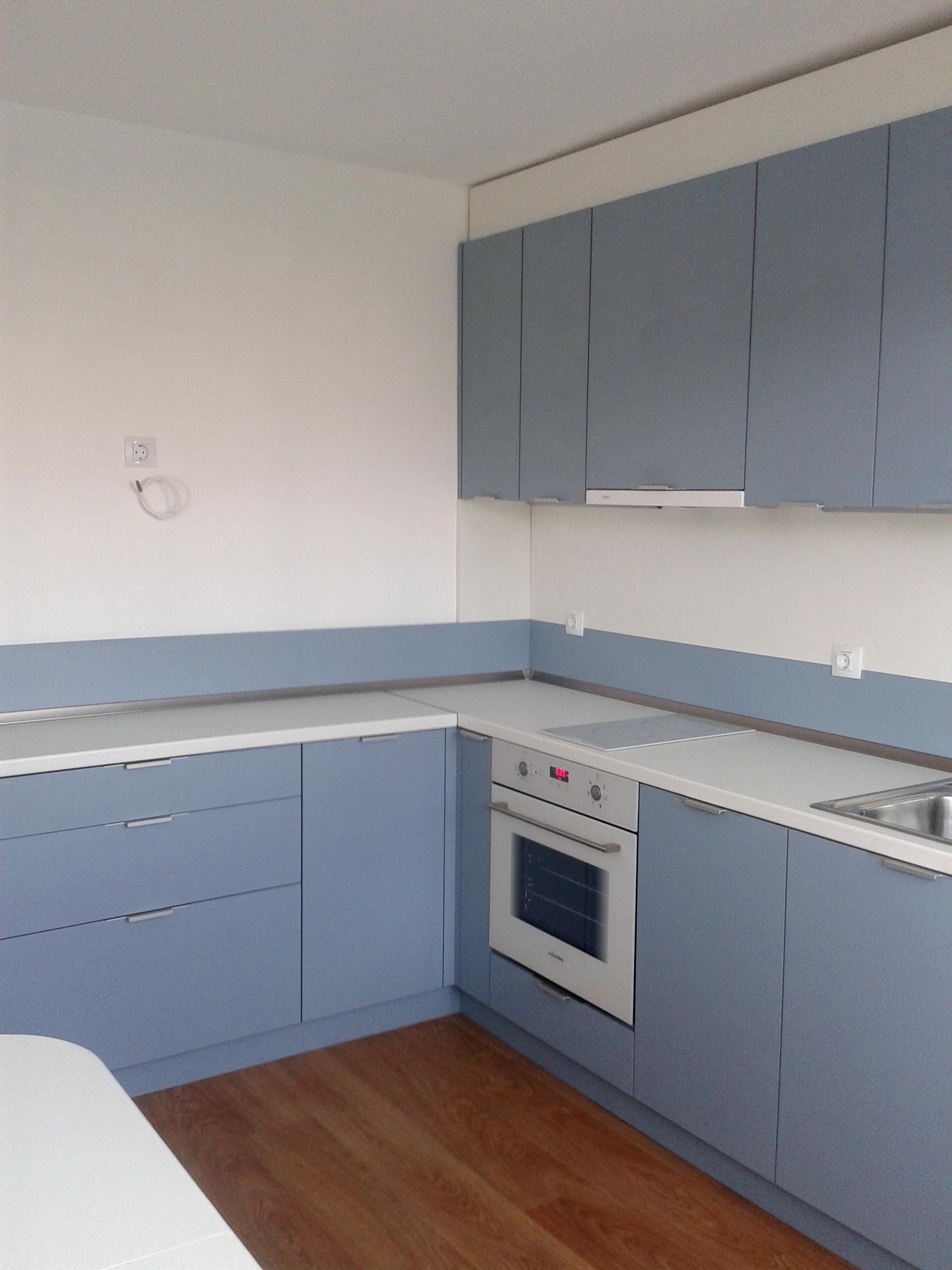 Кухня в модерен стил Л-16