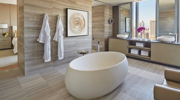 Обзавеждане на хотелска баня